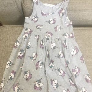H&M unicorn dress size 4-6